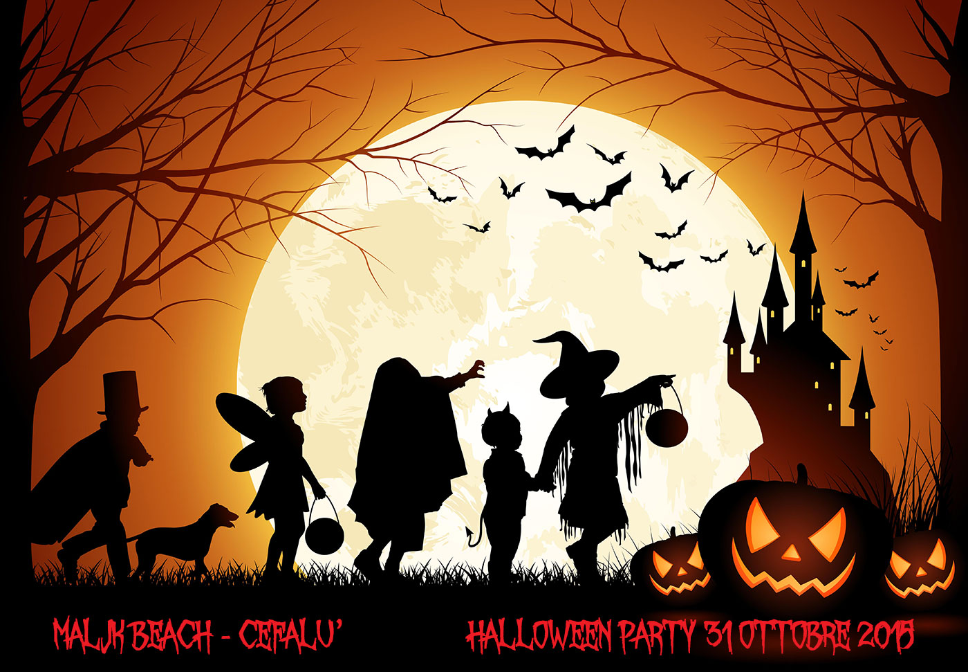 Halloween 2015 a Cefalù – Mega Party con festa in maschera
