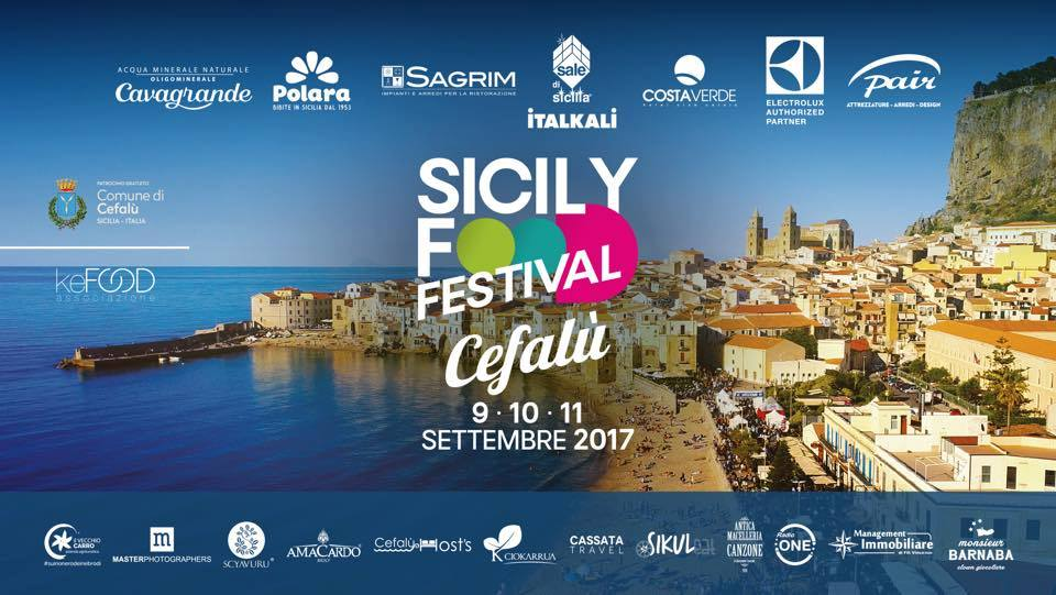 Locandina dell'evento del Sicily Food Festival 2017