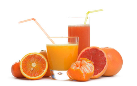 Fresh orange juice at Villa Gaia Hotel Cefalu